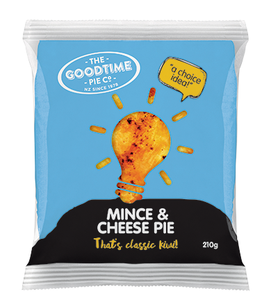 Classic Kiwi Mince and Cheese