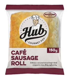 Goodtime Hub Cafe Sausage Roll
