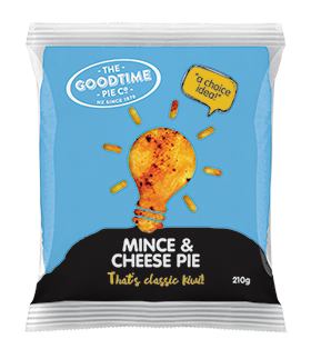 Goodtime Classic Mince and Cheese Pie