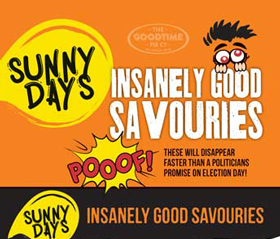 Goodtime SunnyDays Insanely Good Savouries