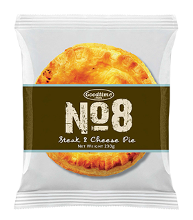 No8 Premium Steak Cheese Pie