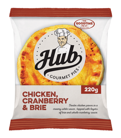 Goodtime Hub Pie Chicken Cranberry and Brie