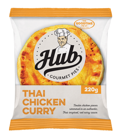 Hub Thai Chicken Curry Pie