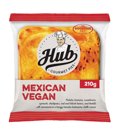 Hub Mexican Vegan Pie