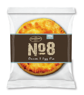 Goodtime No 8 Bacon and Egg Pie