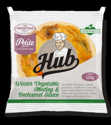 Hub Petite Winter Vegetable Pie