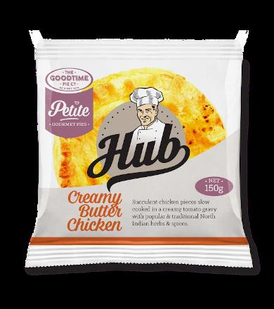 Goodtime Hub Petite Creamy Butter Chicken Pie