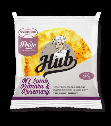 Hub Petite NZ Lamb Kumara & Rosemary Pie