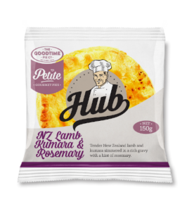 Goodtime Hub Petite NZ Lamb Kumara & Rosemary Pie