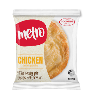 Goodtime Metro Chicken & Vegetables Pie