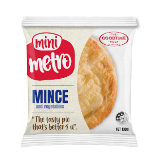 Metro-Mini-Mince & Vege Pie -MG