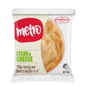 Goodtime Metro Steak & Cheese Pie Pack