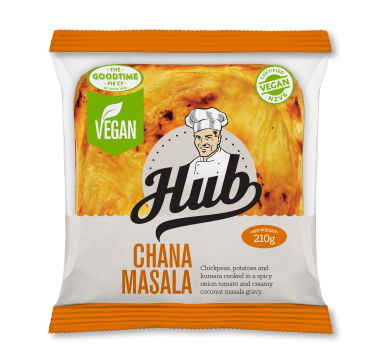 Hub Gourmet Vegan Chana Masala Pie Pack