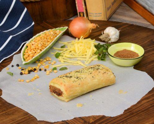Hub Gourmet Vegan Sausage Roll Background