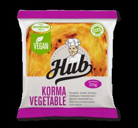 Hub Gourmet Vegan Korma Vegetable Pie Pack