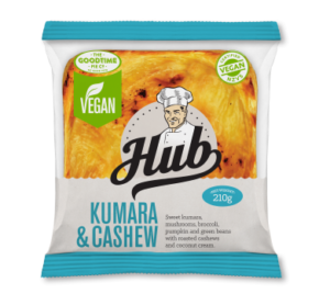 Hub Gourmet Vegan Kumara & Cashew Pie Pack