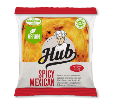 Hub Gourmet Vegan Spicy Mexican Pie Pack